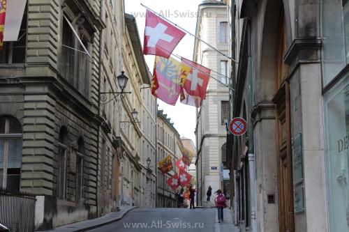 Весенние улочки Женевы