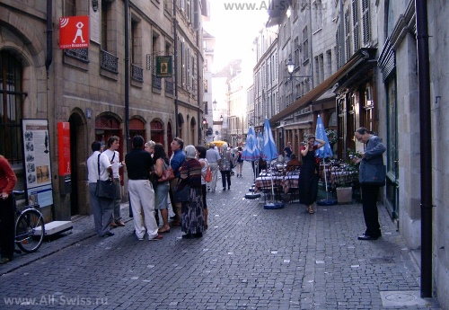 Улица Grand Rue в Женеве