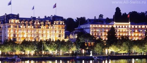 Отель Beau-Rivage Palace в Лозанне