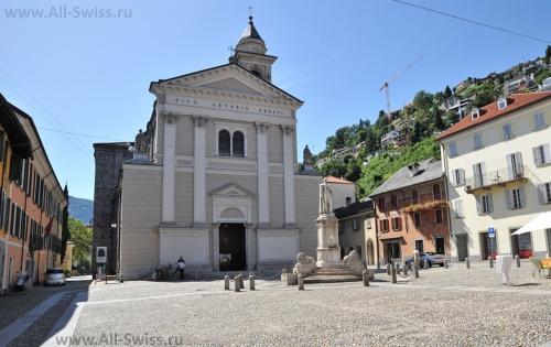 Церковь святого Антонио в Локарно