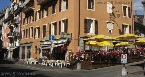 Кафе de La Clef в Веве