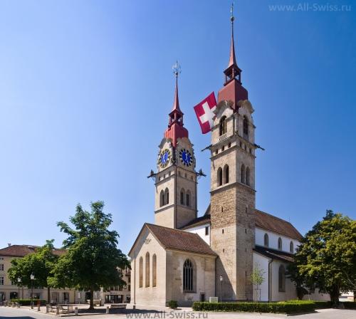 Красивая церковь в Винтертуре