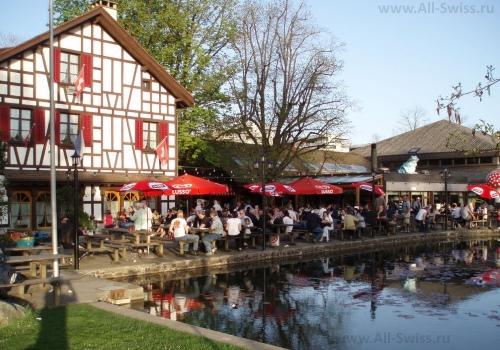 Один из многочисленных ресторанов Винтертура