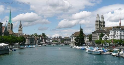 Река Лимат в Цюрихе