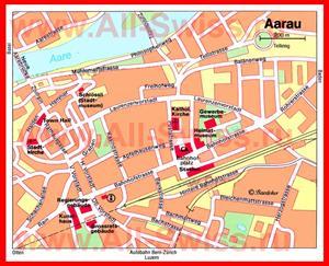 Туристическая карта Арау с достопримечательностями