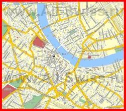 Подробная карта города Базель