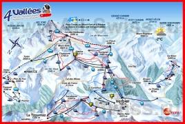 Подробная карта Вербье