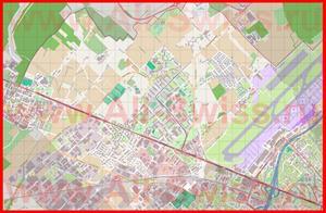 Подробная карта города Мейран