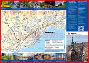 Подробная туристическая карта города Морж