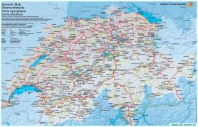 Транспортная карта Швейцарии