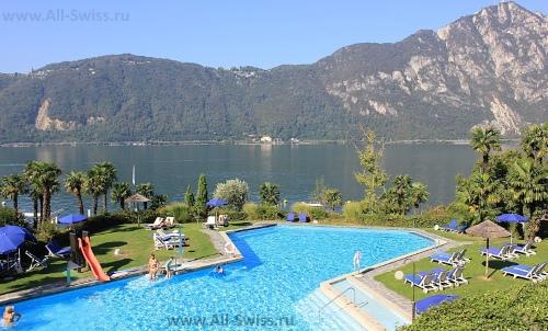 Отели на озере Лугано
